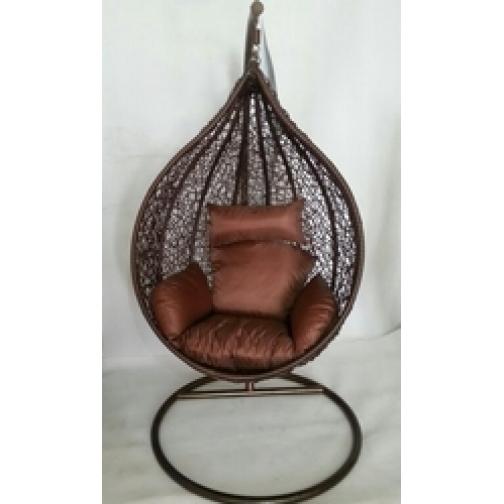Подвесное кресло из искусственного ротанга МД-077/4-6822541
