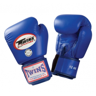 Twins Special Перчатки боксерские Twins BGVL-3, 8 унций, Синий