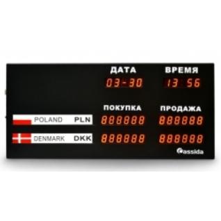 Табло валют Cassida R-3L-446533