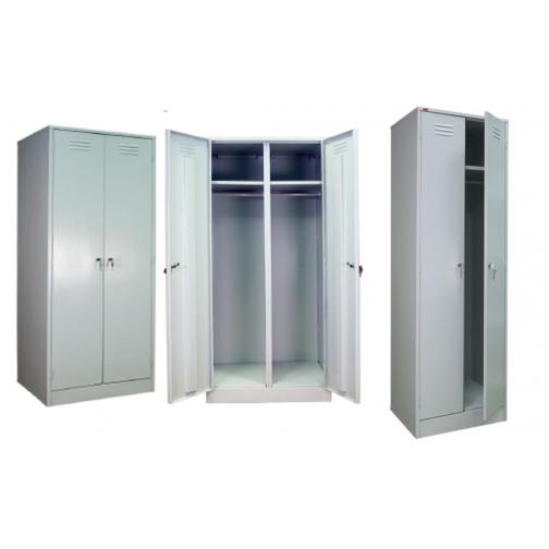 Шкаф металлический, двухсекционный для раздевалок ШРМ-АК-1304847