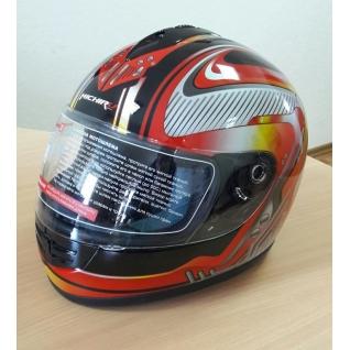 Шлем интеграл Michiru красный-1025782