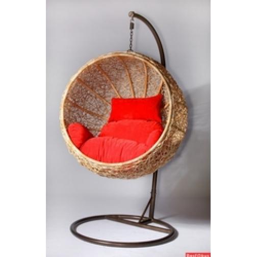 Подвесное кресло из искусственного ротанга МД-0032-6822522