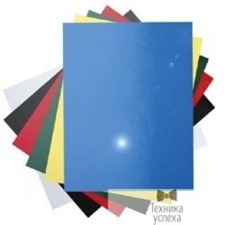 Fellowes Lamirel Обложки Chromolux LA-7869001 (A4, картонные, глянцевые, цвет: синий, 250г/м, 100шт.)