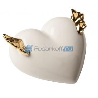 "Фарфоровое сердце ""Geflugelt"" (Крылатое)-5864396"