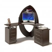 Компьютерный стол Правый, Левый. Венге