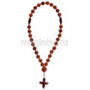 Четки православные из янтаря натурального, 7 мм-9056795