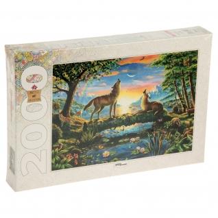 Пазл Art Collection - Волки, 2000 элементов Step Puzzle-37724259