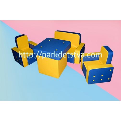 Мягкая набивная мебель Пуговка-6830476