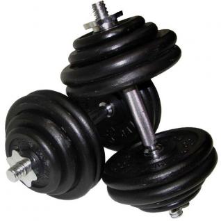 Alex Гантель разборная черная DBH101-16T (10 кг) 10012281-5754627