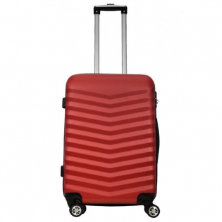 Monopol Чемодан пластиковый Monopol Bora - red (M)-5079394