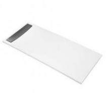 Крышка слива для поддонов Jacob Delafon Surface E62620-VS 90-120 см матовая сталь