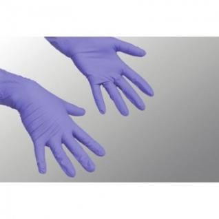 Перчатки нитрилов одноразов ЛайтТафф Vileda пурпур/синий L 100 шт/уп137977