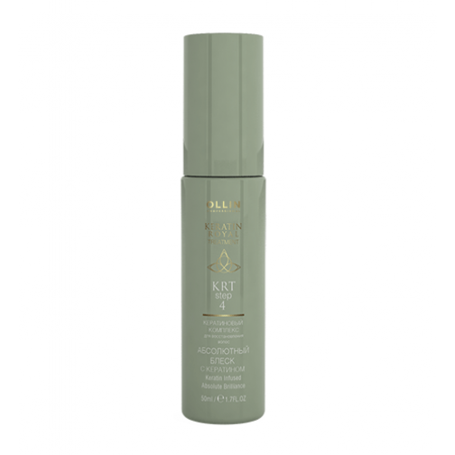 Ollin Professional Keratin Infused Brilliance Spray - Абсолютный блеск с кератином-4942636