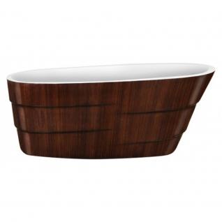Отдельно стоящая ванна LAGARD Auguste Brown wood