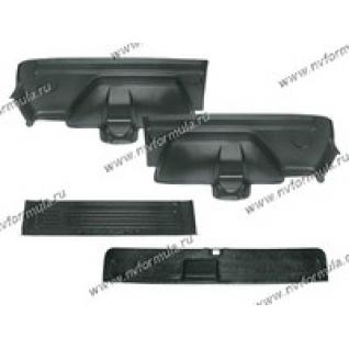 Обшивка багажника 2121 пластик 4части Сызрань-422534