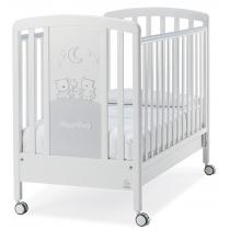 Кровать Italbaby Кровать Happy Family белая/вельвет