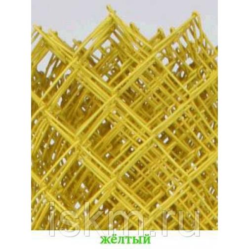 Сетка Рабица цветная Желтый 213834