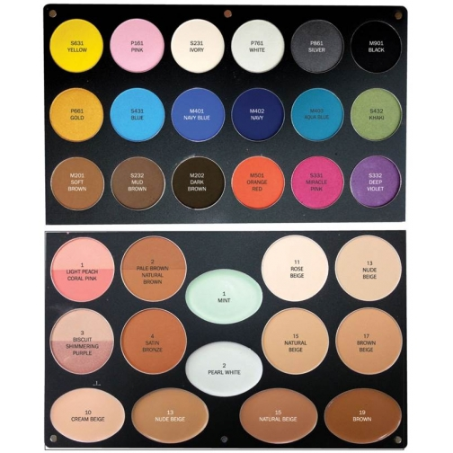 Косметика VOV - Профессиональная магнитная палитра VOV Beauty Avenue Professional Palette-2147897