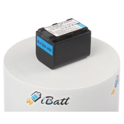 Аккумуляторная батарея iBatt для фотокамеры Sony DCR-SR75E. Артикул iB-F284 iBatt-6803916
