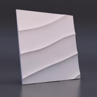 Гипсовая панель LUX DEKORA Волна диагональная крупная