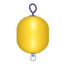 Буй причальный/швартовый Polyform AS 520x280мм желтый (MR40)