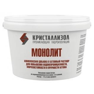 Проникающая гидроизоляция Кристаллизол МОНОЛИТ-4988930