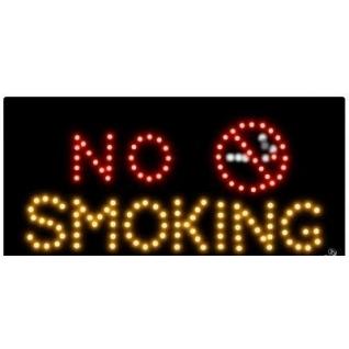 """Светодиодная табличка """"No Smoking"""" 50*35 см.-752787"""
