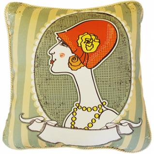 Винтажные подушки | Декоративная наволочка в винтажном стиле в ассортименте (40x40 см.)-5254809