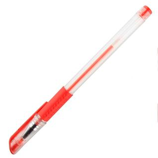 Ручка гелевая Attache Economy красный стерж., 0,5мм, манжетка