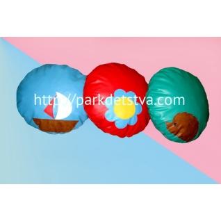 Подушка сенсорная диаметр 60 см-6830391