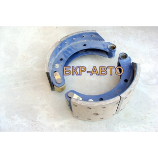 Колодка тормозная МАЗ 54326-3501090/91 две штуки комплект на сторону-2174524