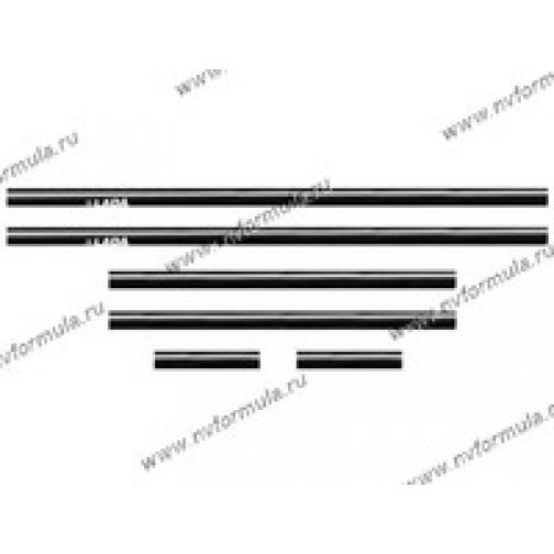 Молдинги кузова самоклеящиеся 2101-07-432340