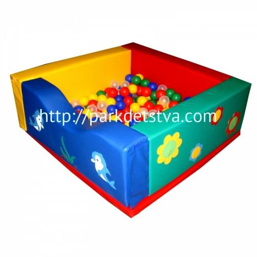 Мягкий модульный сухой Бассейн Малышок-6828730