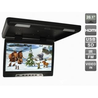 """Потолочный автомобильный монитор 20,1"""" с HDMI и встроенным медиаплеером AVIS Electronics AVS 2020MPP (черный) Avis-6826347"""