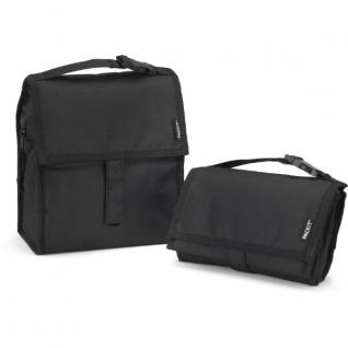 Сумка Холодильник Lunch Bag (черный, 4.5л)