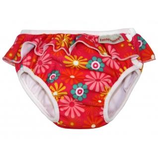 Трусики для купания (плавки) ImseVimse pink daisy frill