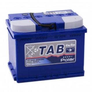 Автомобильный аккумулятор TAB TAB POLAR 60L 600А прямая полярность 60 А/ч (242x175x190)