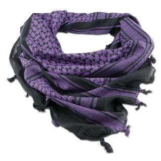 Made in Germany Шемаг черно-лилового цвета 110 x 110 см-5027706