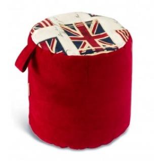 "Пуф ""Британский флаг микс"""
