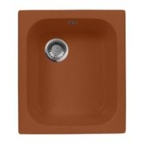Мойка кухонная Aqua Granit Ex, цвет: терракот, арт. M-17 (302)