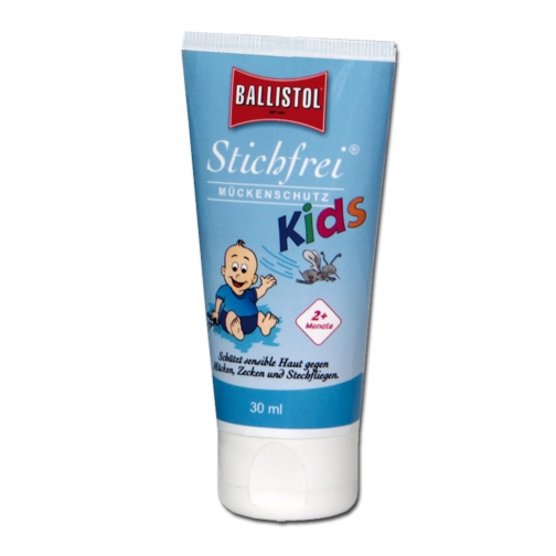 Ballistol Лосьон для защиты детей от укусов насекомых Stichfrei 30 мл.-5026249