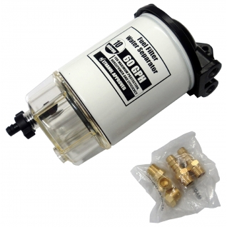 Фильтр-сепаратор топливный для Mercury 4-х тактных (C14573P)-1395381