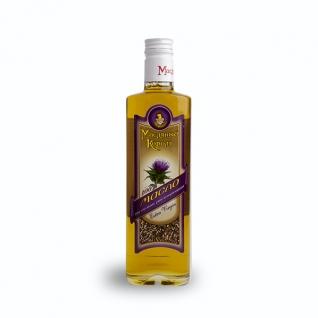Масло из семян расторопши «Масляный король», 0.35 л, стекло