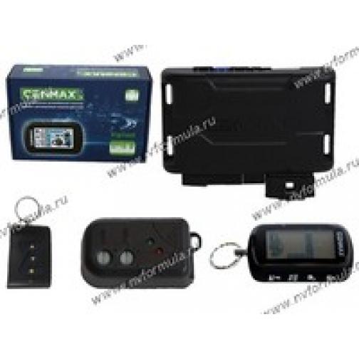 Автосигнализация Cenmax Vigilant ST-10 D ж/к обратная связь автозапуск турбо-таймер-9060209