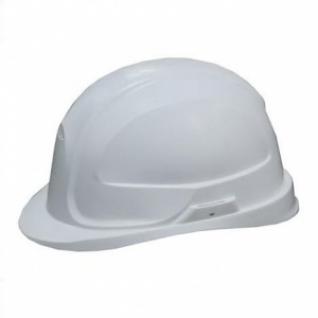 Каска строительная белая-8168451