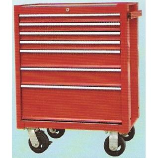Тележка инструментальная, 7 выдвижных полок Big Red-6003912