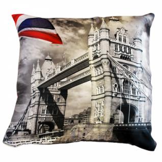 Декоративная подушка Лондон 40 см. двусторонняя, в ассортименте-5254656