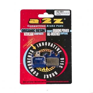 Колодки тормозные A2Z Hope Tech V2/ mini X2, blue-2001103