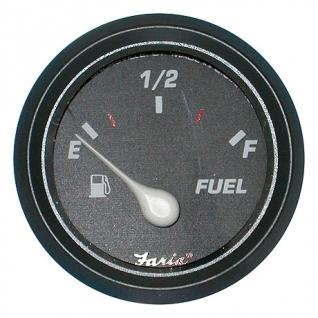 Указатель уровня топлива Faria Professional red, черный 10-180 Ом (10246842)-1393817