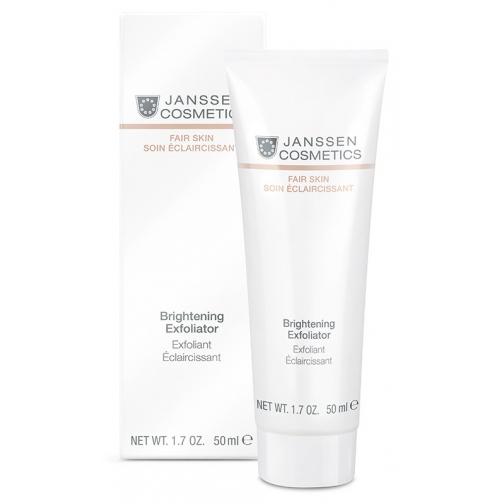 Janssen Brightening Exfoliator - Пилинг-крем для выравнивания цвета лица-4943136